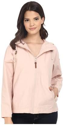 Cole Haan Sporty Hooded Packable Jacket Women's Coat