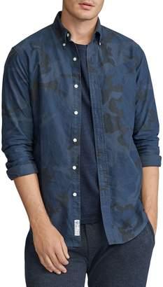 Polo Ralph Lauren Classic-Fit Plaid Camouflage Oxford Shirt