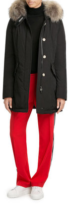 Woolrich Luxury Arctic Down Parka with Fur-Trimmed Hood $739 thestylecure.com