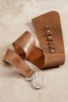 Soft Surroundings Dakota Leather Belt