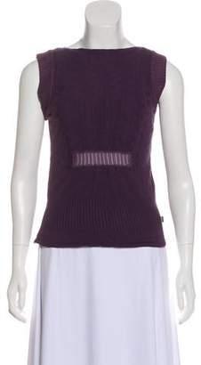 Just Cavalli Knit Sleeveless Top