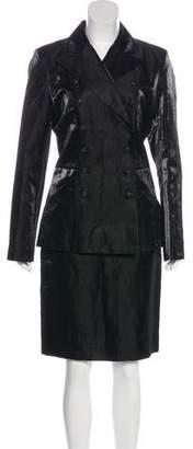 Chanel Iridescent Skirt Suit