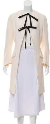 Christian Dior Wool Knee-Length Coat