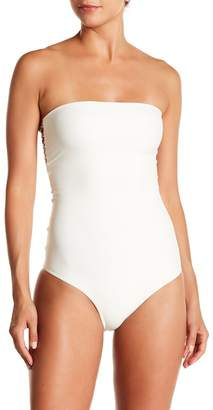 Mikoh Waikele Bandeau Back Cutout One-Piece Swimsuit