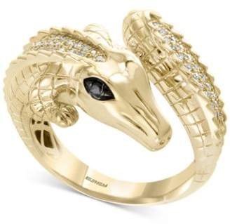Effy Safari by Diamond Crocodile Ring (1/3 ct. t.w.) in 14k Gold