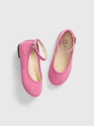Gap Toddler Faux-Suede Ballet Flats