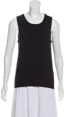 Magaschoni Cashmere Sleeveless Top