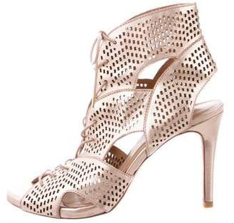 Joie Perforated Leather Sandals