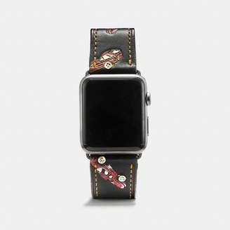 Coach Apple Watch Strap With Car Print