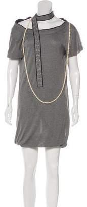Sacai Embellished Knit Dress