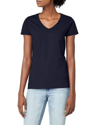 Fruit of the Loom Ladies Lady-Fit Valueweight V-Neck Short Sleeve T-Shirt (XL)