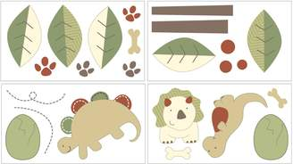 Coco & Company CoCo & Company Chomp & Stomp Removable Wall Decals