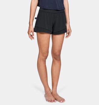 Under Armour Women's Athlete Recovery Sleepwear Boxer Shorts