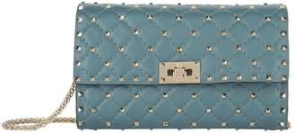 Valentino Rockstud Spike Clutch Bag