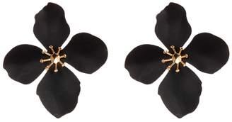 Spring Air Olivia Welles Resin Flower Drop Earrings