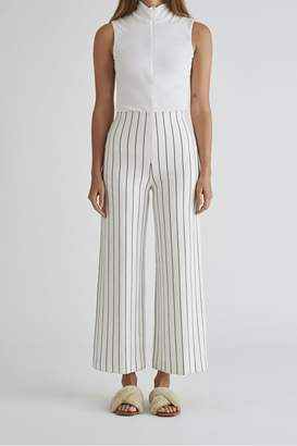 Rosetta Getty Cropped Straight Pant