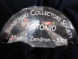Swarovski Swarvoski 2003 Title Plaque, 626472