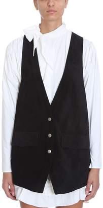 Isabel Marant Dabney Tailored Leather Vest