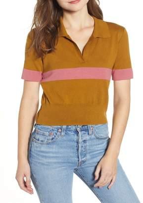 BP Stripe Polo Sweater (Regular & Plus Size)