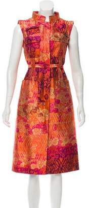 Christian Lacroix Silk Brocade Dress