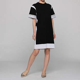 Kenzo (ケンゾー) - Kenzo Midi Tee Dress Mix Mesh