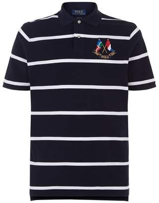 Polo Ralph Lauren Flag Emblem Polo Shirt