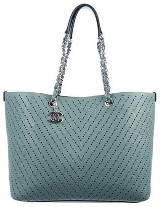 Chanel 2016 Large Perforated Tote