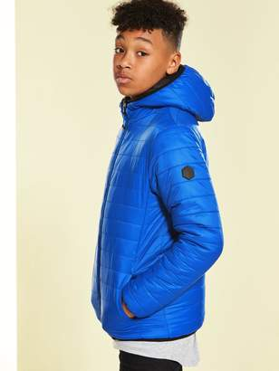 Very Boys Reversible Padded Slim Fit Jacket
