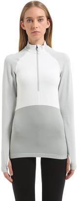 Falke Half Zip Long Sleeve Shirt Ski Top