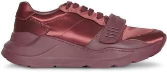 Burberry Satin Sneakers