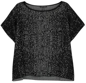 Eileen Fisher Monochrome Knitted Top