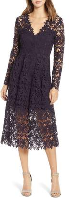 ASTR the Label Lace Midi Dress