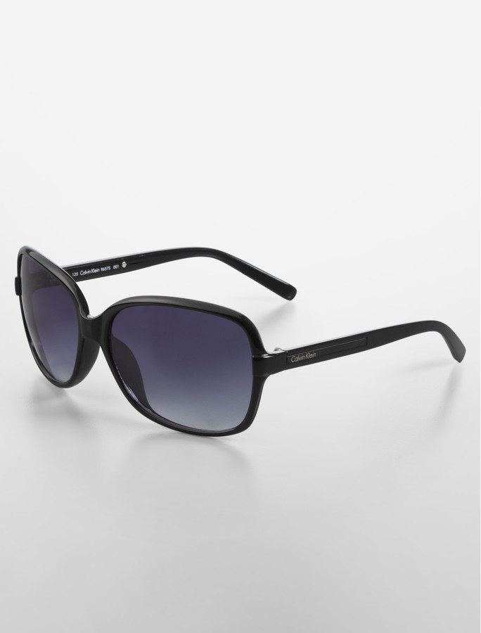 Calvin Klein Oversized Square Frame Sunglasses