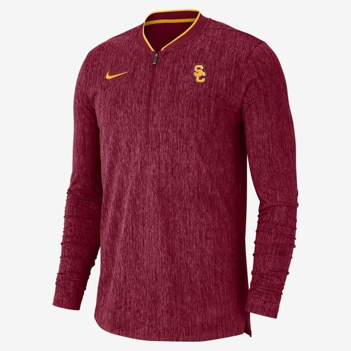 Nike College Coach (Alabama) Men's Half-Zip Long Sleeve Top