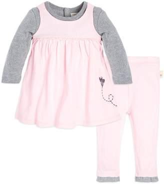 Burt's Bees 2Fer Organic Baby Dress & Pant Set