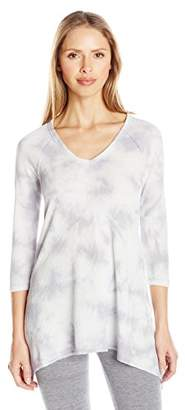 Kensie Performance Women's Tie-Dye Tunic Top