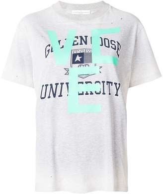 Golden Goose university print T-shirt