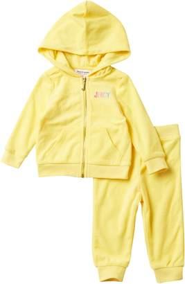 Juicy Couture Hoodie & Pants 2-Piece Set (Baby Girls)
