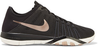 Nike - Free Tr 6 Mesh And Neoprene Sneakers - Black $100 thestylecure.com