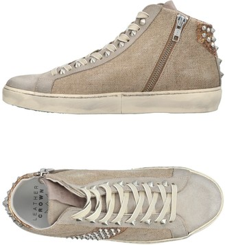 Leather Crown High-tops & sneakers - Item 11369186PT