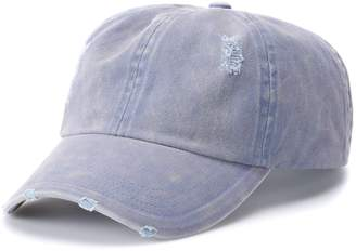 Mudd Women's Plain Distressed Baseball Cap
