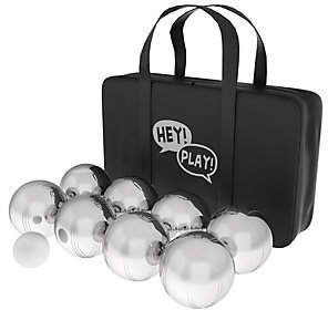 Hey! Play! Petanque & Boules Steel Ball Bocce Set