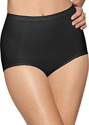 Bali womens Seamless Brief With Tummy Panel Ultra Control 2-Pack(X245)-2XL