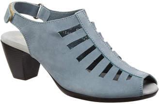 Munro American Abby Slingback Leather Sandal