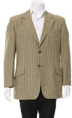 Dolce & Gabbana Woven Two-Button Blazer