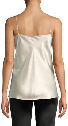 Lafayette 148 New York Tiffy Hand-Beaded Lace Cami Blouse