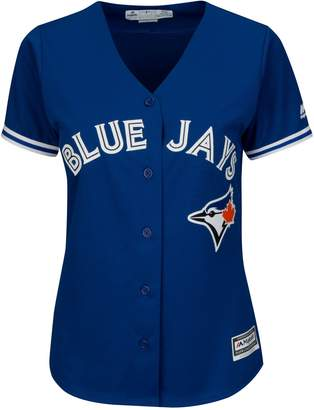 Majestic Toronto Blue Jays 2016 Cool Base Women's Replica Alternate MLB Baseball Jersey