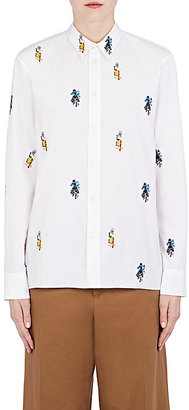 Marni Women's Sally Smart Embroidered Cotton Shirt