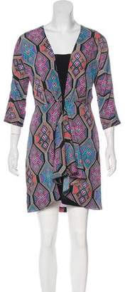 Mara Hoffman Printed Long Sleeve Dress w/ Tags