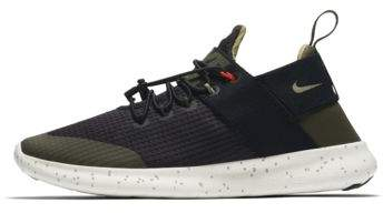 Nike Nike Free RN Commuter 2017 Utility Women's Running Shoe Size 5 (Black)